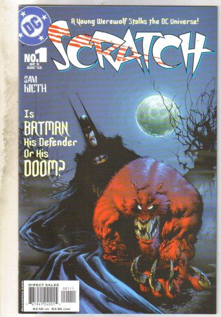Scratch #1 comic book mint 9.8