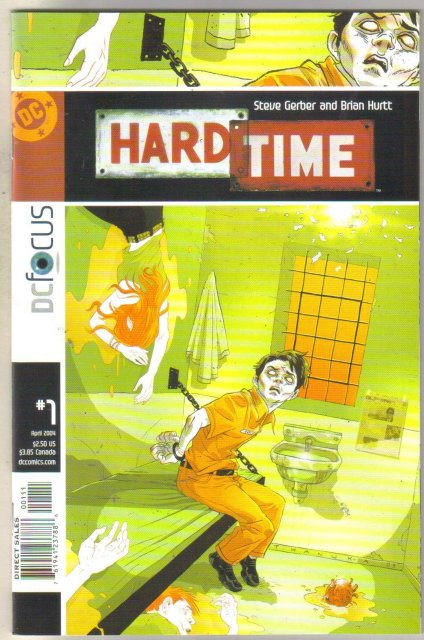 Hard Time #1 comic book mint 9.8