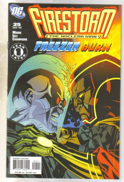 Firestorm The Nuclear Man #25 comic book near mint 9.4