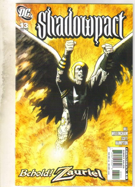 Shadowpact #13 comic book mint 9.8