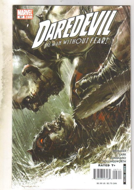 Daredevil #97 comic book near mint 9.4