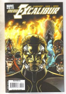 New Excalibur #20 comic book mint 9.8