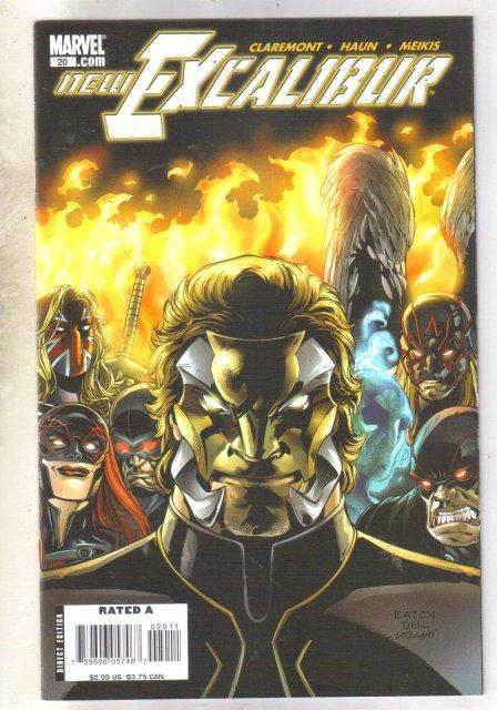 New Excalibur #20 comic book mint 9.8