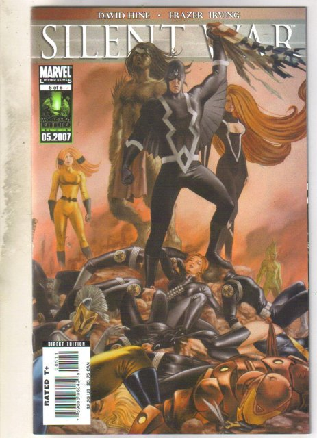 Silent War #5 comic book mint 9.8