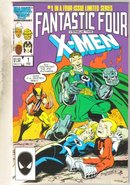 Fantastic Four versus the X-Men #1 comic book mint 9.8