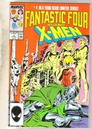 Fantastic Four versus the X-Men #4 comic book near mint 9.4