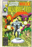 Silver Surfer Warlock Resurrection #1 comic book mint 9.8
