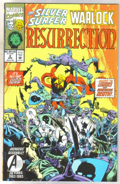Silver Surfer Warlock Resurrection #2 comic book mint 9.8