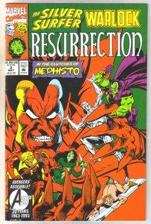 Silver Surfer Warlock Resurrection #3 comic book very fine 8.0