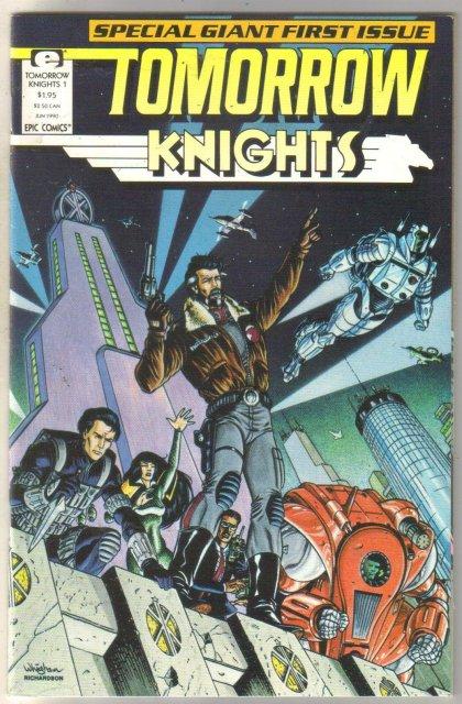 Tomorrow Knights #1 comic book mint 9.8