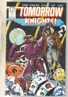Tomorrow Knights #6 comic book near mint 9.4
