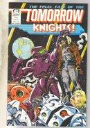 Tomorrow Knights #6 comic book near mint 9.4