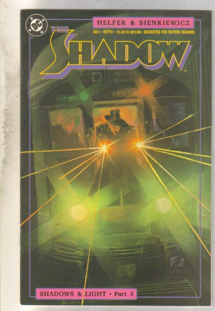 The Shadow #3 comic book near mint 9.4