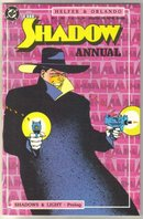 The Shadow Annual 1987 comic book near mint 9.4