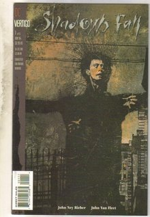 Shadows Fall #1 comic book mint 9.8