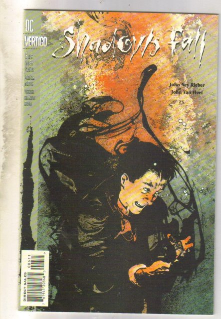 Shadows Fall #6 comic book mint 9.8