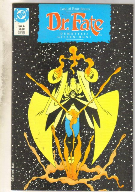 Doctor Fate #4 comic book mint 9.8