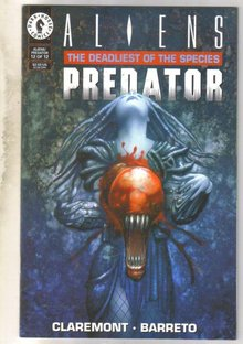 Aliens Predator Deadliest of the Species #12 comic book near mint 9.4
