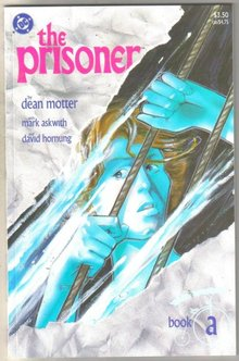 The Prisoner Book a comic book mint 9.8