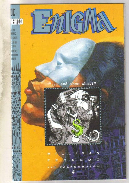 Enigma #4 comic book near mint 9.4