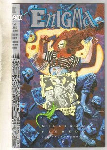 Enigma #5 comic book near mint 9.4