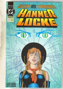 Hammer Locke #5 comic book near mint 9.4