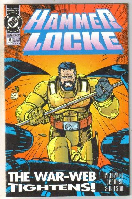 Hammer Locke #6 comic book near mint 9.4