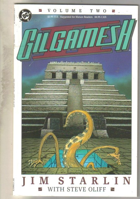 Gilgamesh #2 comic book very fine 8.0