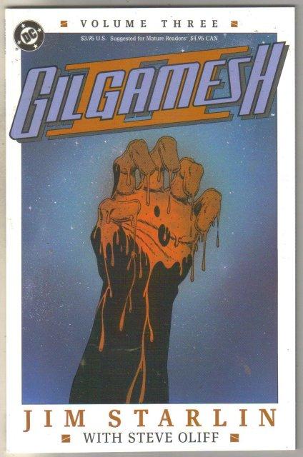 Gilgamesh #3 comic book mint 9.8