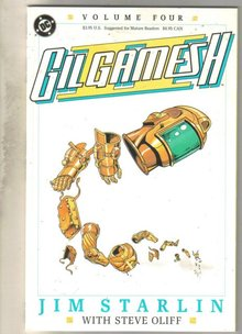 Gilgamesh #4 comic book very fine 8.0