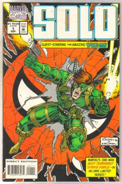 Solo #1 comic book mint 9.8