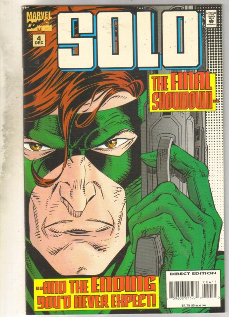 Solo #4 comic book near mint 9.4