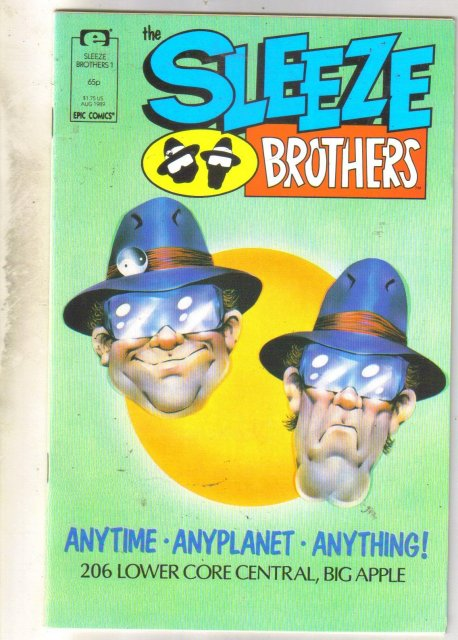 Sleeze Brothers #1 comic book near mint 9.4