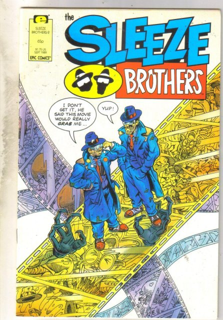 Sleeze Brothers #2 comic book near mint 9.4