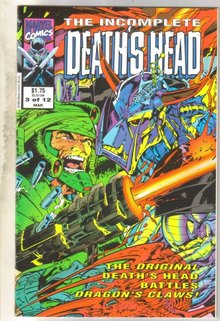 Incomplete Deathshead #3 comic book mint 9.8