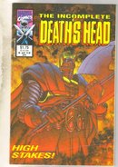Incomplete Deathshead #4 comic book near mint 9.4