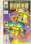 Incomplete Death's Head #9 comic book mint 9.8