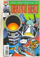 Incomplete Death's Head #10 comic book mint 9.8
