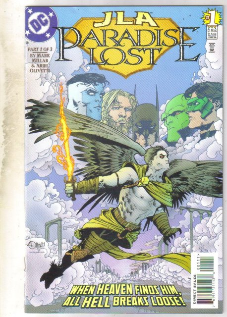 JLA Paradise Lost #1 comic book mint 9.8