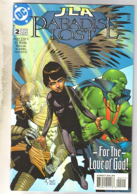 JLA Paradise Lost #2 comic book mint 9.8