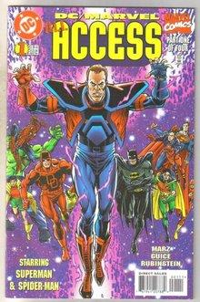 DC/Marvel Access #1 comic book mint 9.8