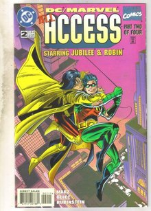 DC/Marvel Access #2 comic book near mint 9.4