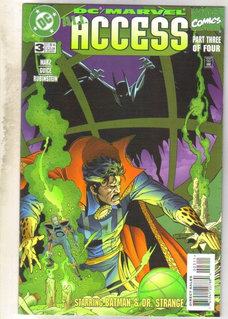 DC/Marvel Access #3 comic book near mint 9.4