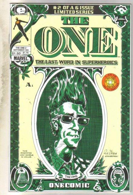 T One #2 comic book mint 9.8