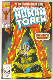 The Saga of the Original Human Torch #3 comic book near mint 9.4