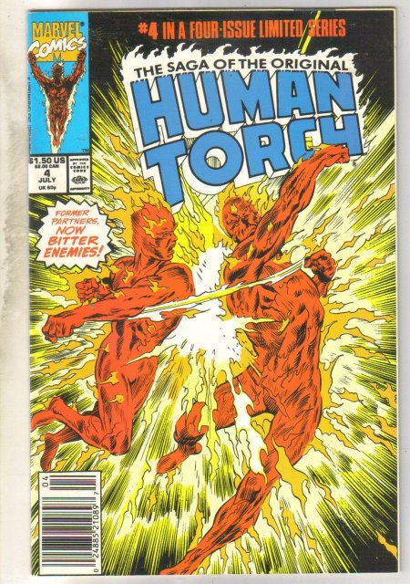 The Saga of the Original Human Torch #43 comic book near mint 9.4
