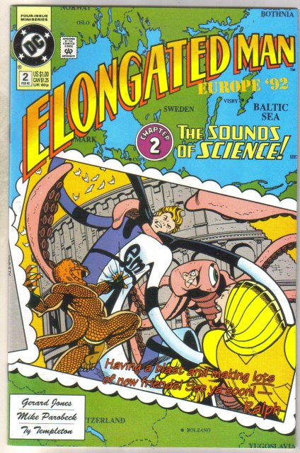 Elongated Man #2 comic book near mint 9.4