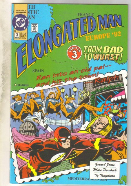 Elongated Man #3 comic book near mint 9.4