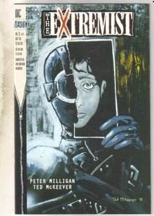 The Extremist #2 comic book very fine/near mint 9.0