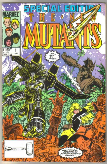 New Mutants Special Edition #1 comic book mint 9.89.0